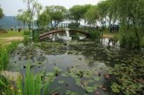 Pond Semiwon Garden Korea