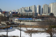 Olympic Park in Winter