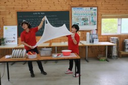 Workshop Cheese making, Jinju Farm, Korea