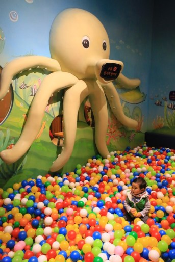 Gyeonggi Children's Museum – ball playground