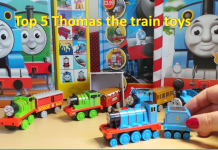 Top 5 Thomas the Train toys for Kids