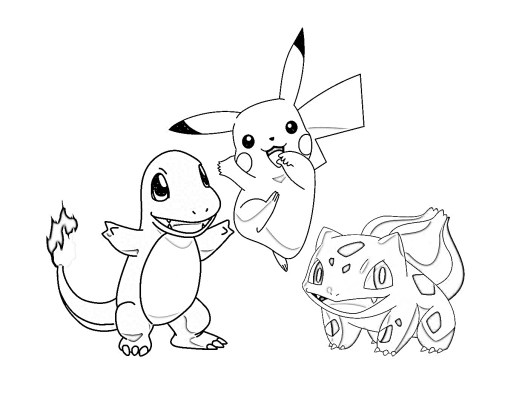 1pokemon Coloring Pages