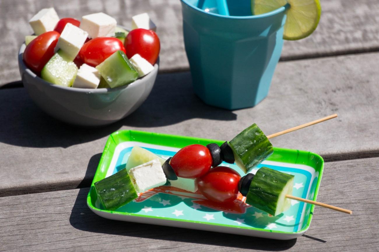 Griekse salade stokje (Babies Kitchen)