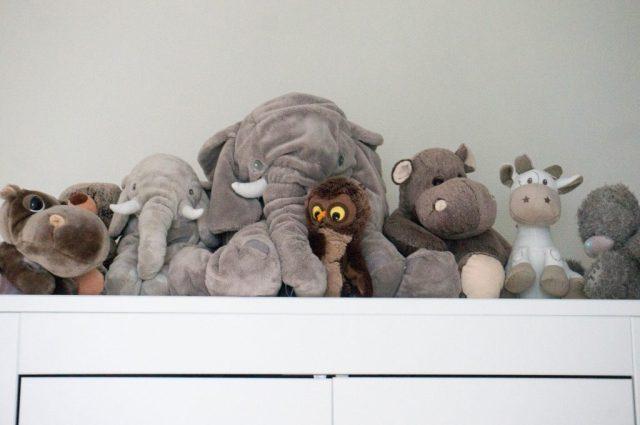 Jungle Babykamer: knuffels | Babies Kitchen