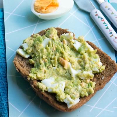 Avocado eiersalade - Babies Kitchen lunch