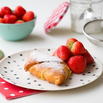 leftover croissant wentelteefjes - Babies Kitchen recept