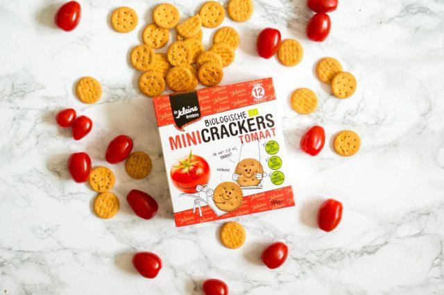 De Kleine Keuken Mini Crackers Tomaat  Babies Kitchen