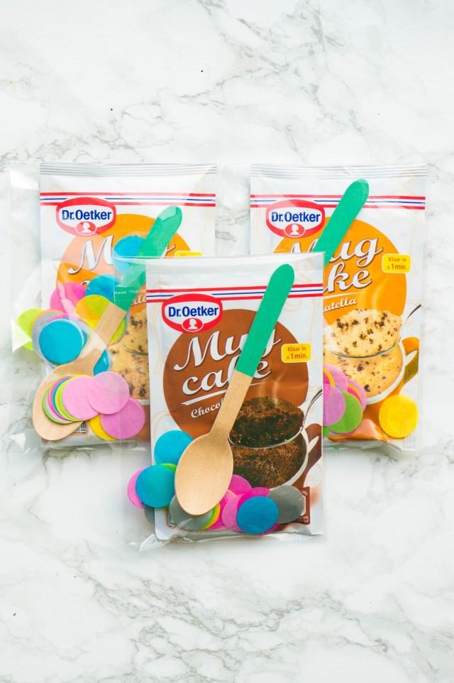 DIY Dag van de Leidster Mug cake presentje [kidshoekje.nl]