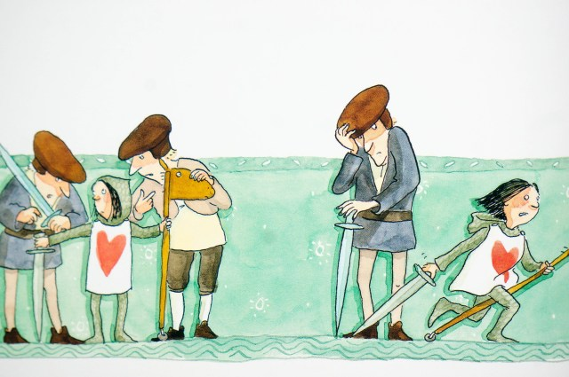 Prentenboek De Ridderprinses - Cornelia Funke [Kidshoekje.nl]