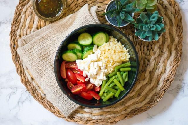 Griekse Orzo Salade - Kidshoekje.nl