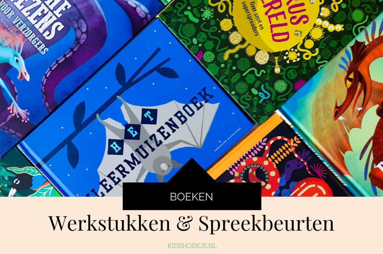 Werkstukken en Spreekbeurt Boeken Kidshoekje