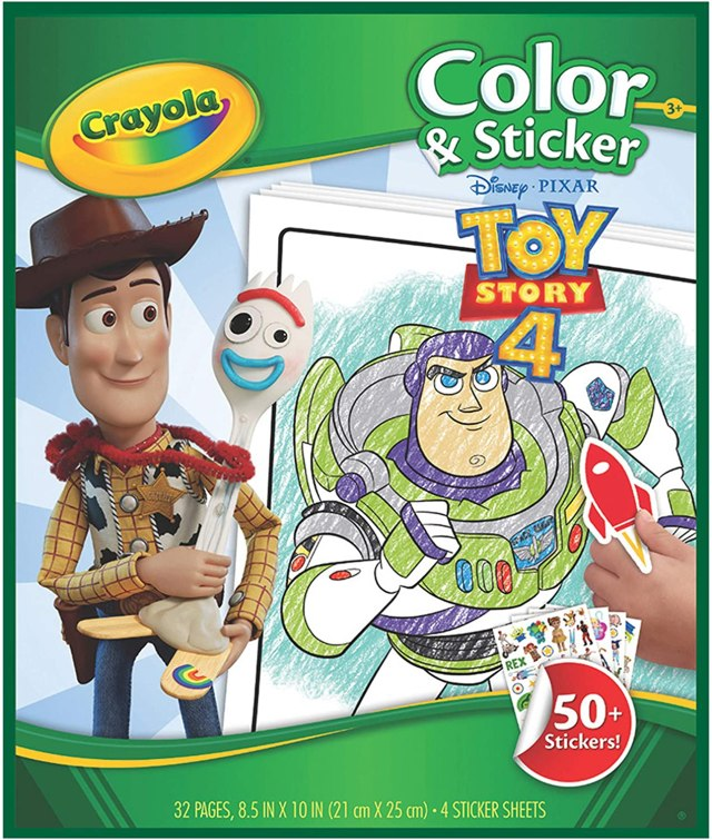 Crayola Toy Story 26 Coloring Pages & Stickers, Kids at Home