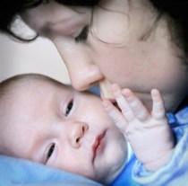 фото мама с младенцем