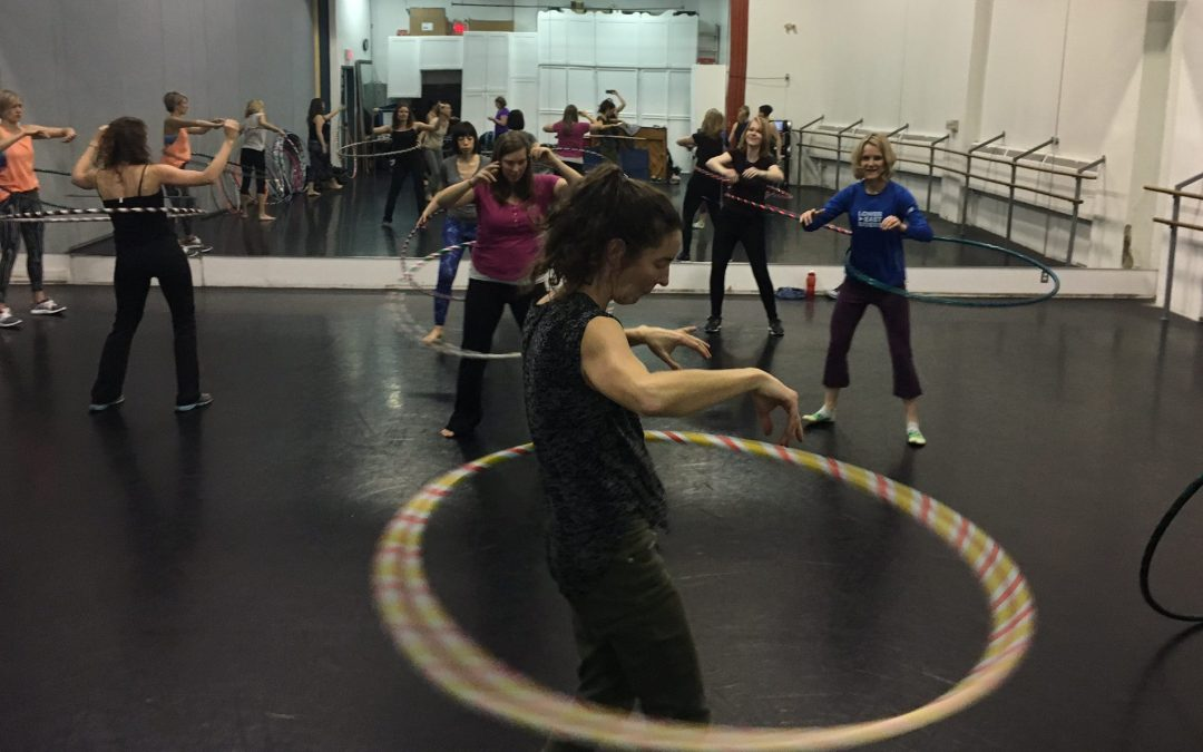 Hula Hooping Keeps Me Sane