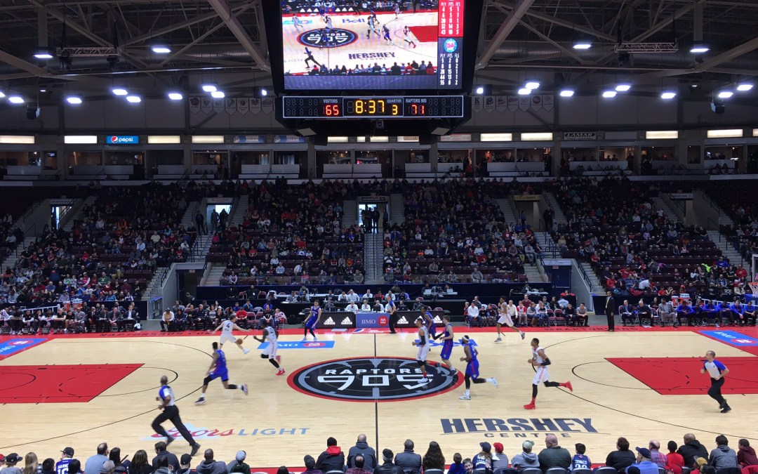 Raptors 905 – Pro Basketball for Families in TOw