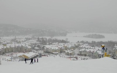 FAMILY TRAVEL: TREMBLANT with Kids in TOw
