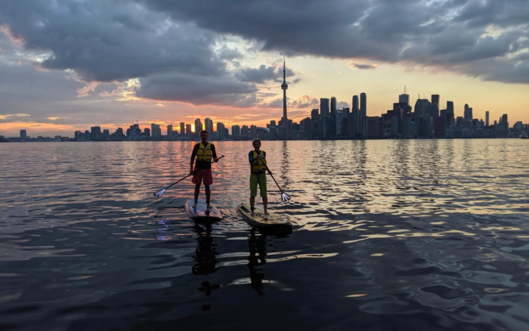 NIGHT SUP ADVENTURE ON TORONTO ISLAND