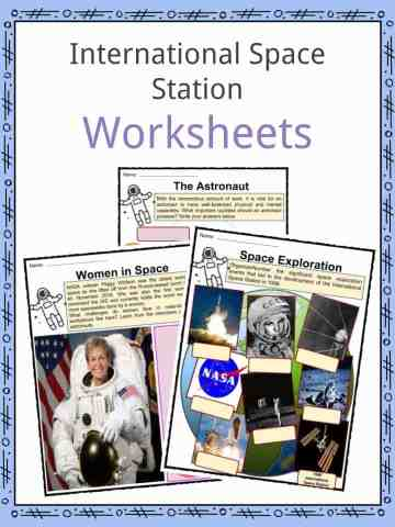 International Space Station Worksheets