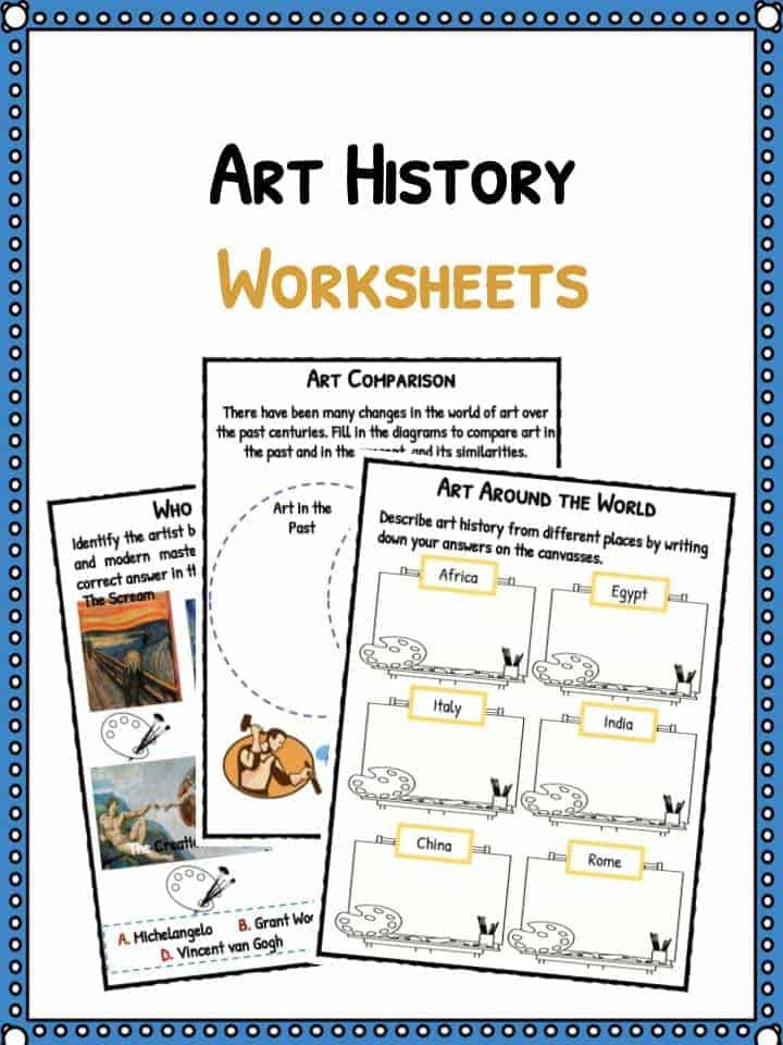 Art History Facts  U0026 Worksheets For Kids