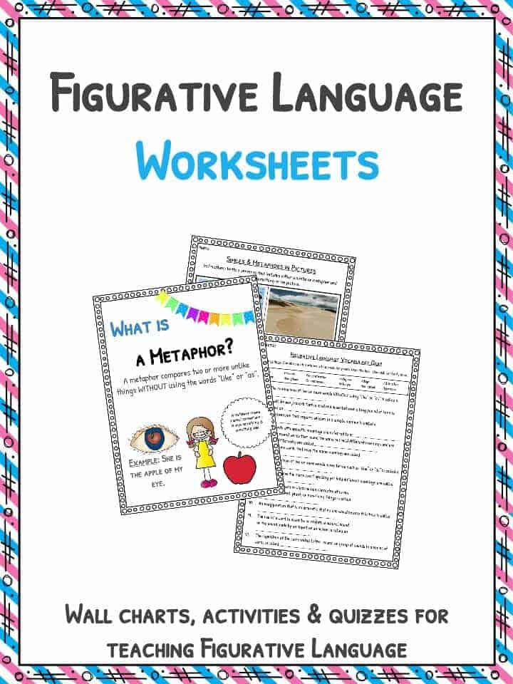Figurative Language Answer Key Set