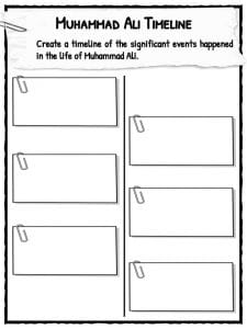 Muhammad Ali Facts Amp Worksheets For Kids