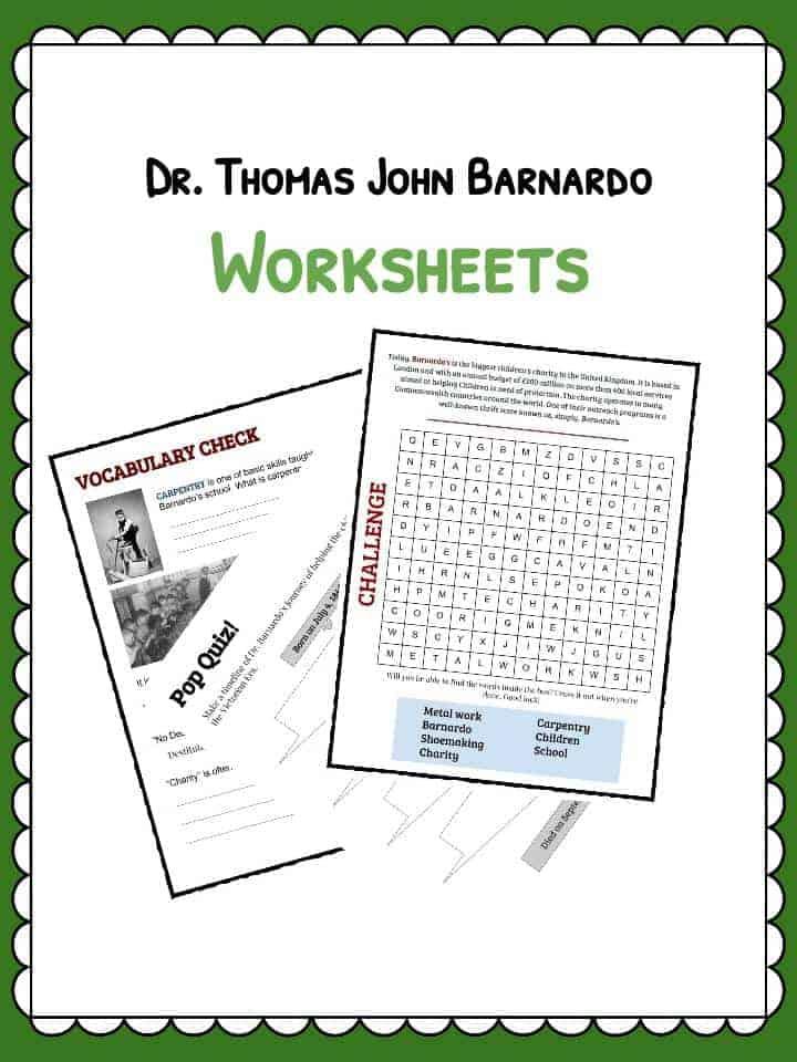 Dr Barnardo Facts & Worksheets | School Teaching Resources