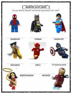 LEGO Fun Facts, Worksheets & Historical Information For Kids