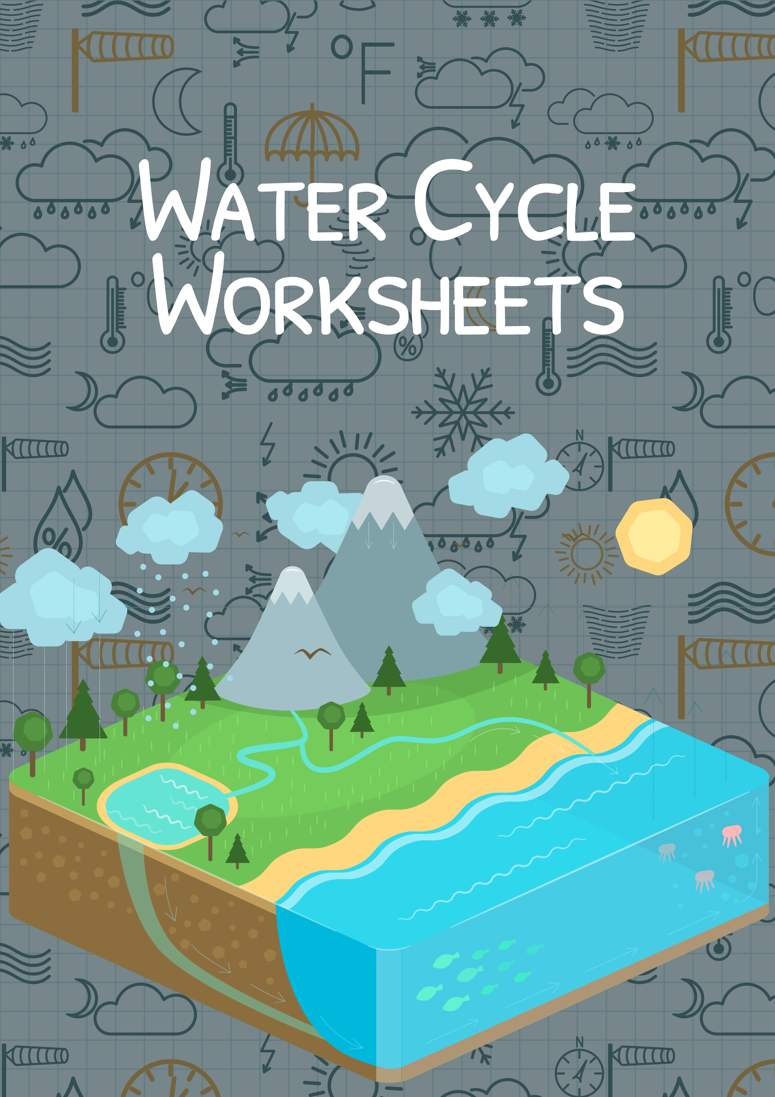 Water Cycle Worksheet Kindergarten