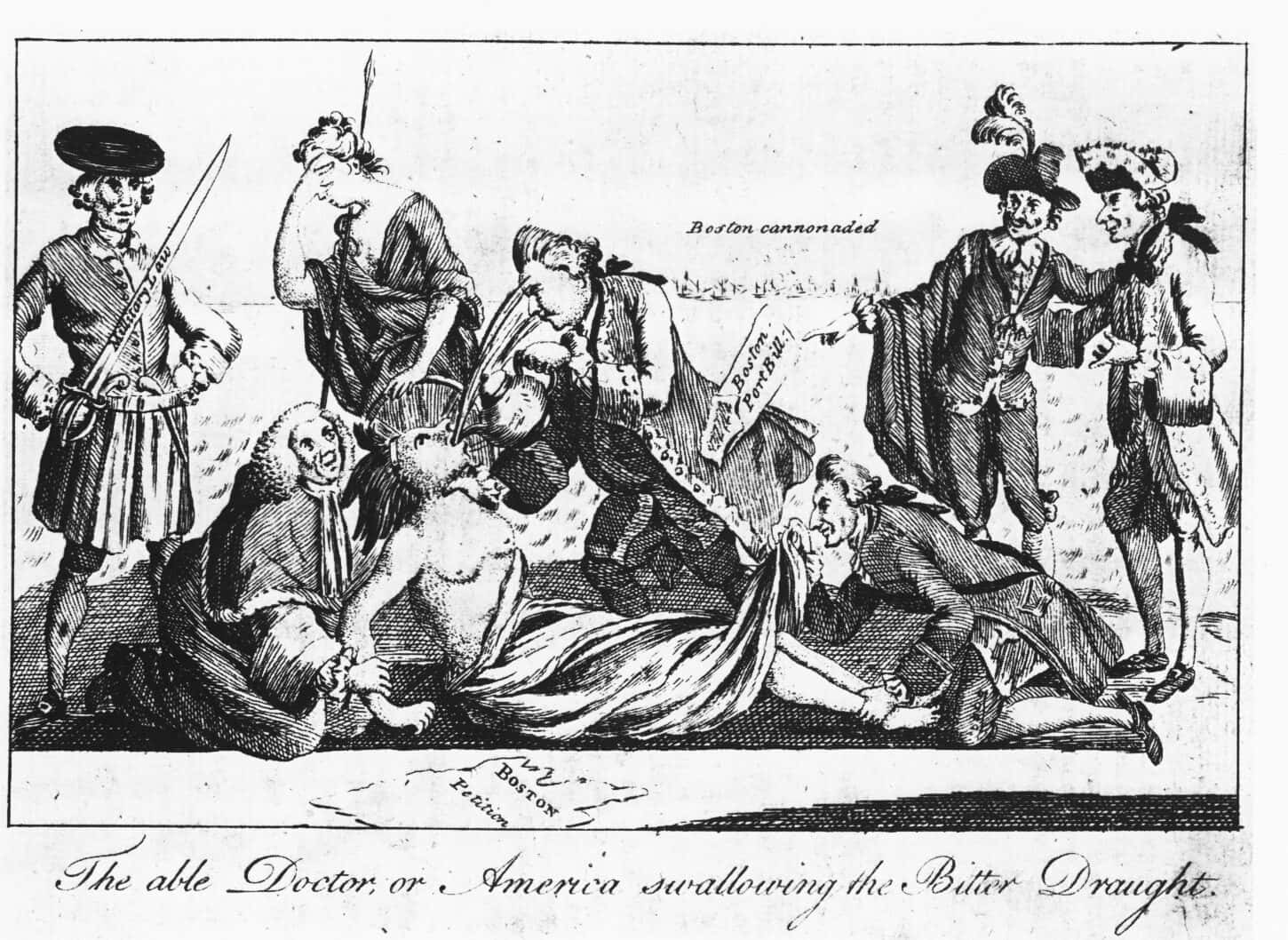 The Intolerable Acts Worksheets Facts Amp Definition For Kids