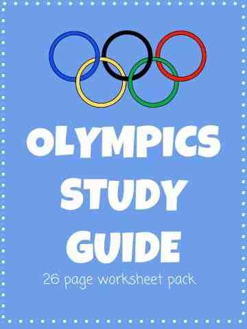 Olympics Worksheet