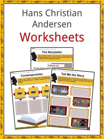 Hans Christian Andersen Worksheets