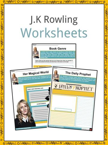 J.K Rowling Worksheets