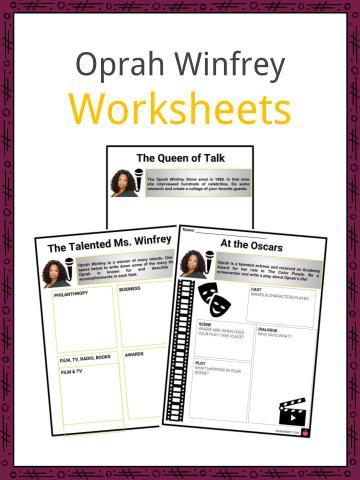 Oprah Winfrey Worksheets