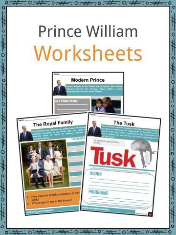 Prince William Worksheets