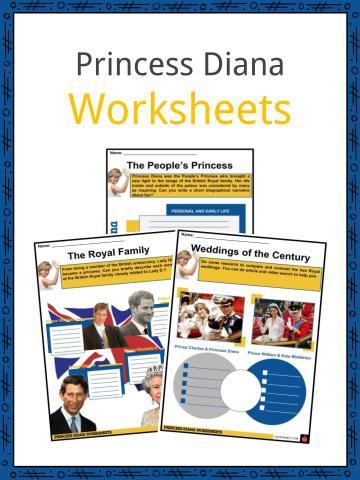 Princess Diana Worksheets