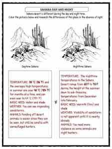 Sahara Desert Facts, Worksheets & Historical Information For