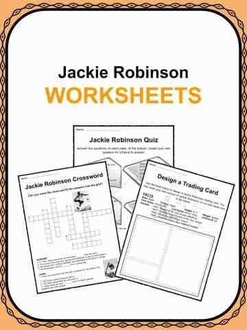 Jackie Robinson Worksheets