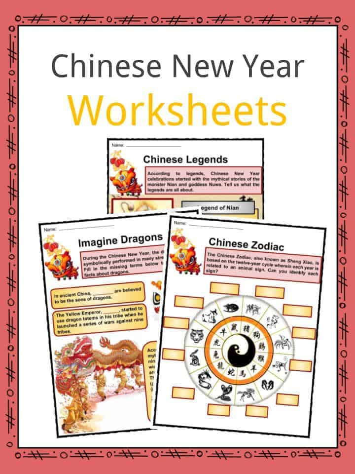 Chinese New Year Worksheets Facts Information For Kids