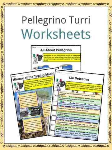Pellegrino Turri Worksheets