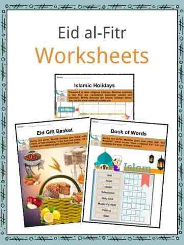 Eid al-Fitr Worksheets