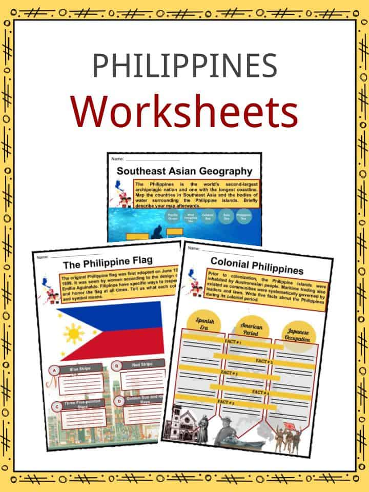 Philippines Facts Worksheets Geography Climate