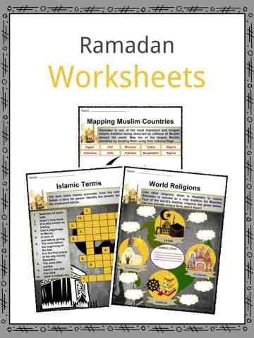 Ramadan Worksheets