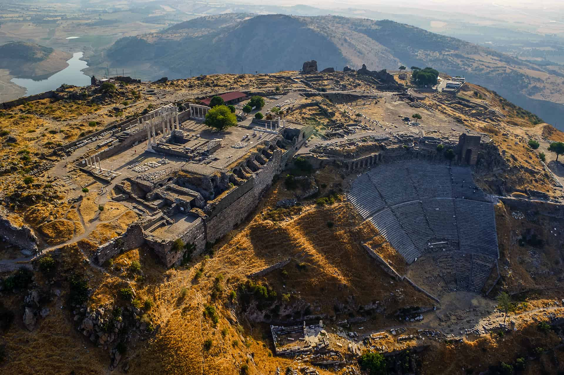 Pergamon Facts Worksheets Location Archaeology