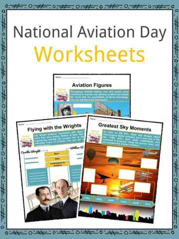 National Aviation Day Worksheets