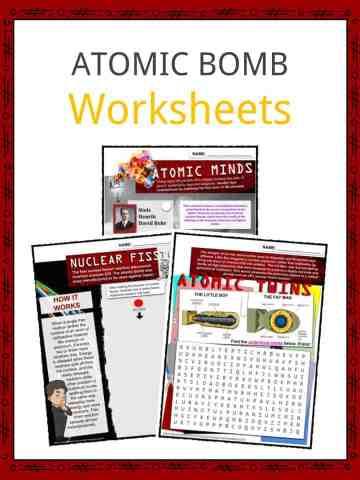 ATOMIC BOMB Worksheets