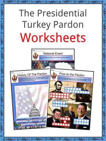 The Presidential Turkey Pardon Worksheets