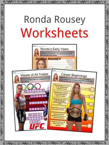 Ronda Rousey Worksheets