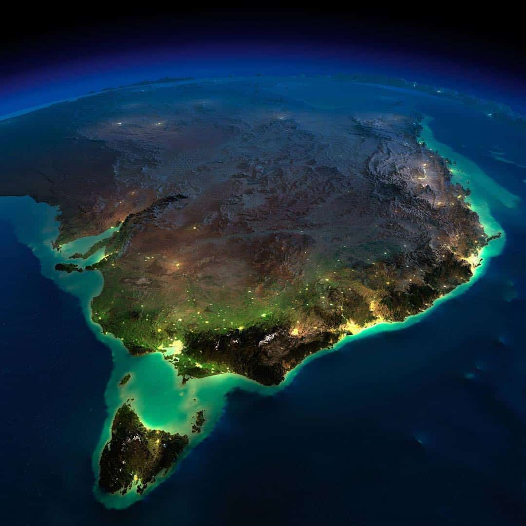 Australia Continent Facts Worksheets History