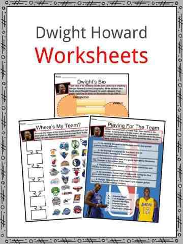 Dwight Howard Worksheets