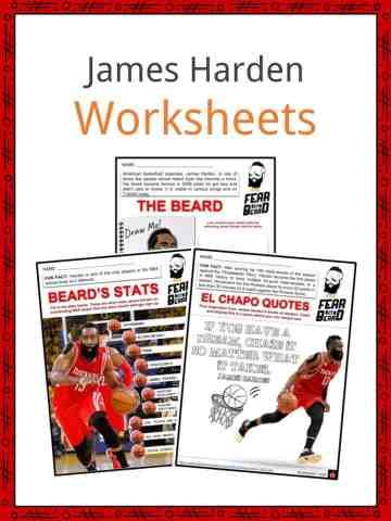 James Harden Worksheets